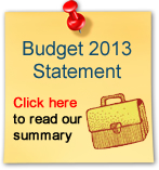 The Budget Statement 2013