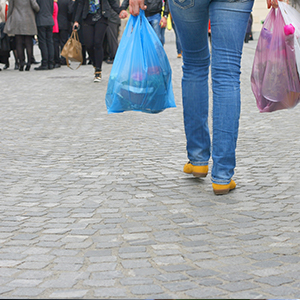 Price of plastic bags in England to double to 10p